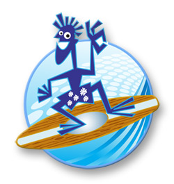 Equity Wave Lending Surfer Logo